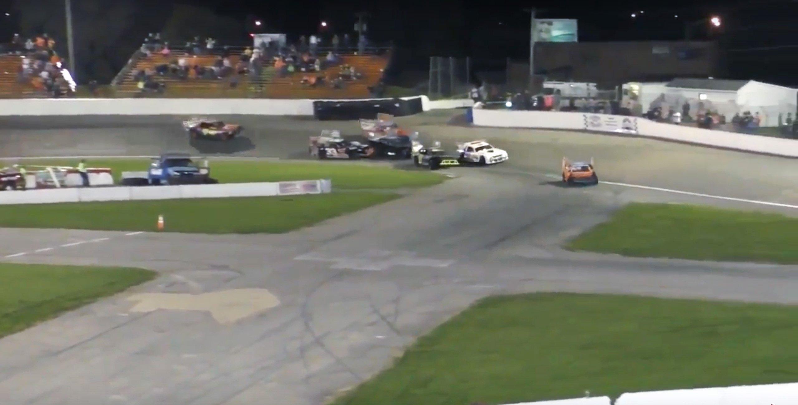 Anderson Speedway taser incident