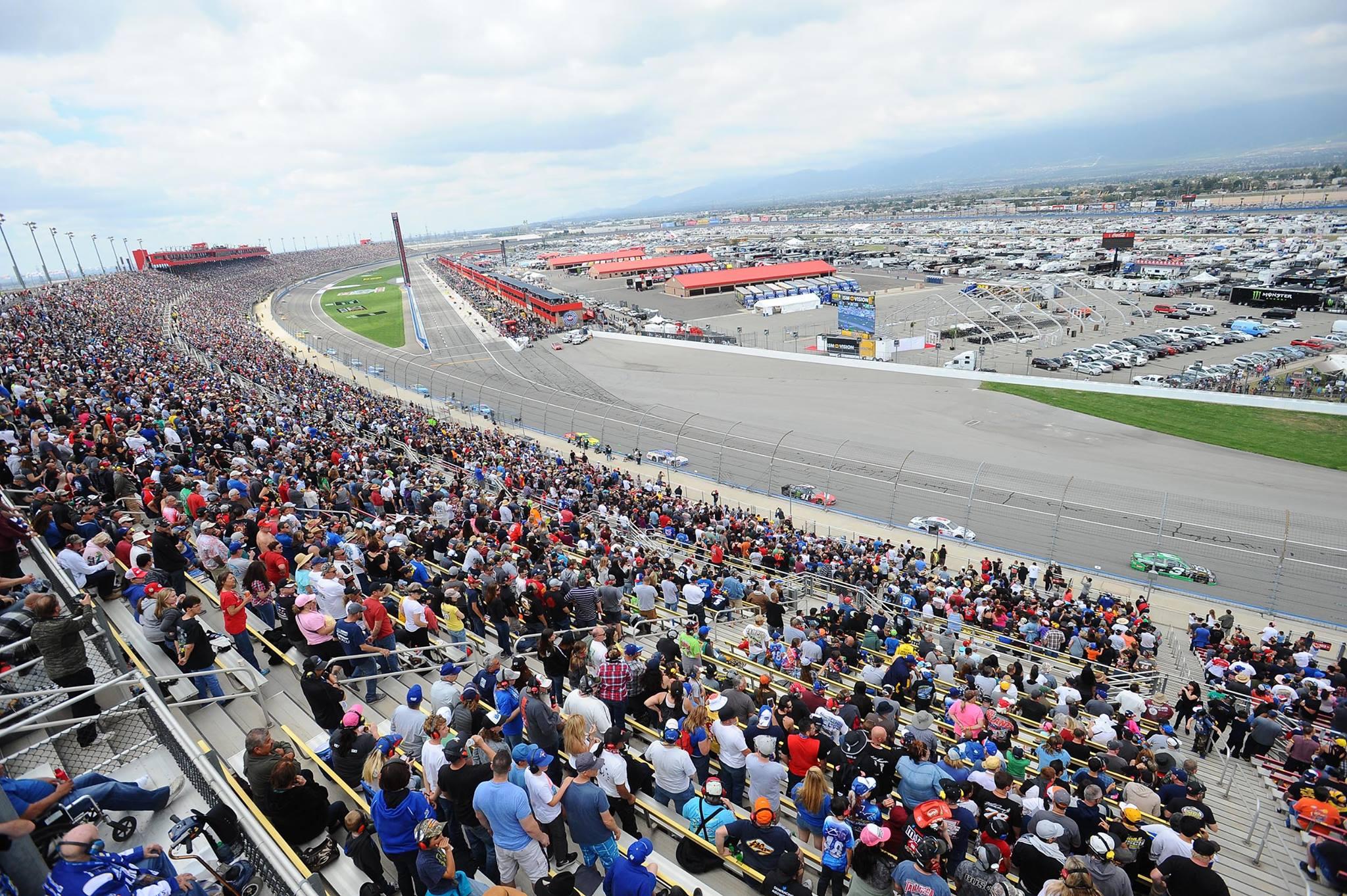 Auto Club Speedway - California
