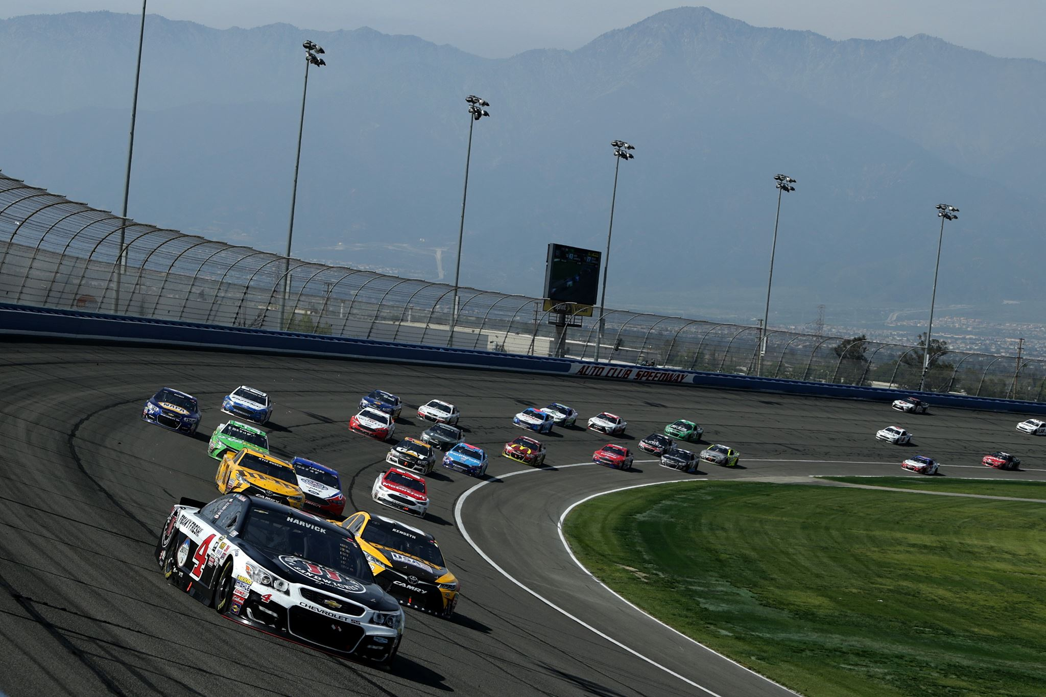 Auto Club Speedway - Monster Energy NASCAR Cup Series