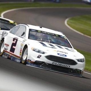 Brad Keselowski NASCAR front splitter