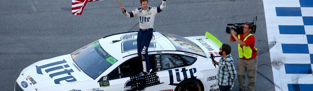 Brad Keselowski fought mechanical issues to the win in 300th start