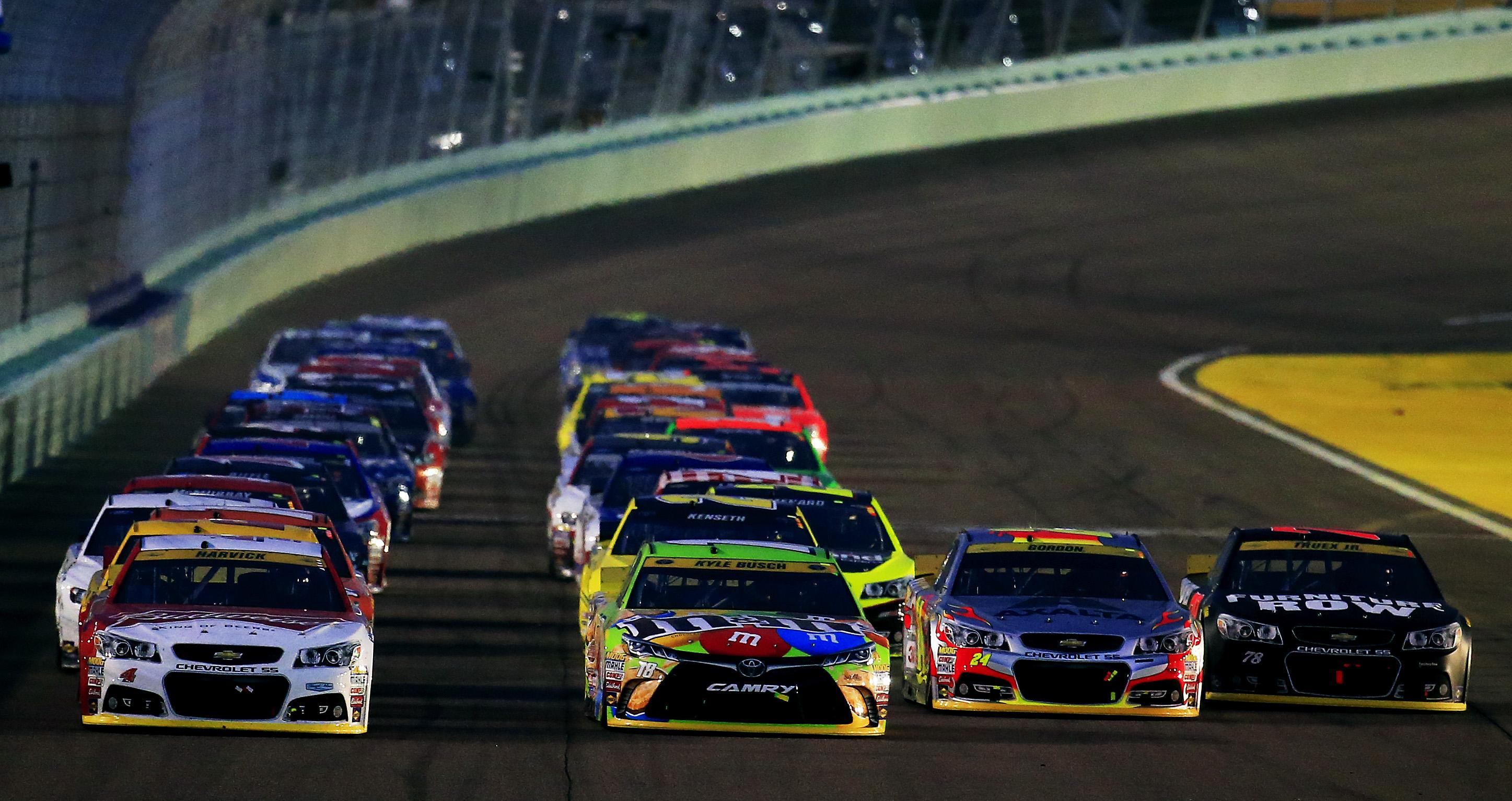 Brian France talks NASCAR stages