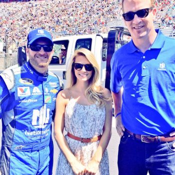 Dale Earnhardt Jr's wife Amy