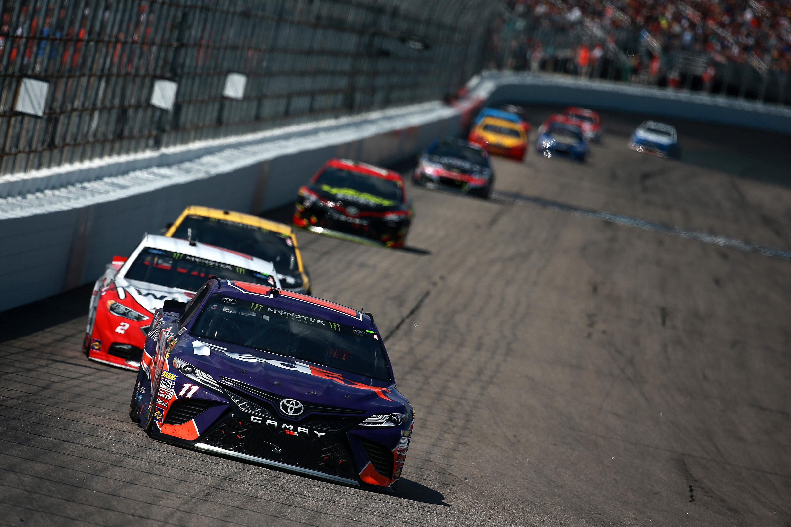 Danny Hamlin comments on NASCAR drivers' salary