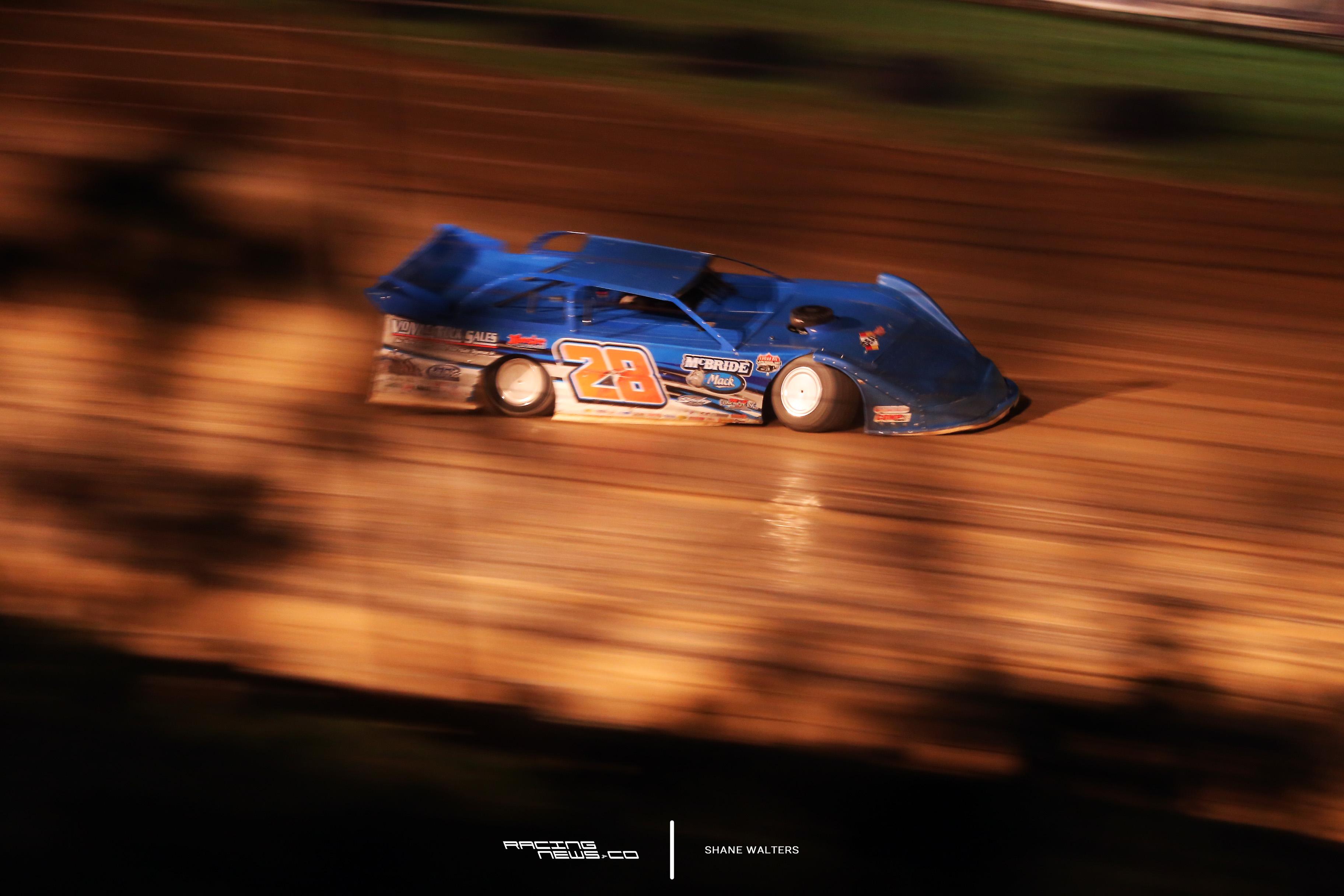 Dennis Erb Jr at PA Motor Speedway 9524