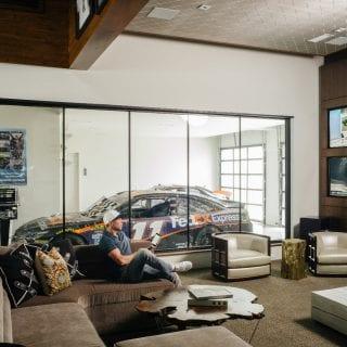 Denny Hamlin Garage