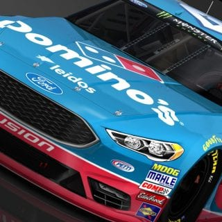 Domino's NASCAR Bubba Wallace