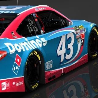 Domino's NASCAR racecar