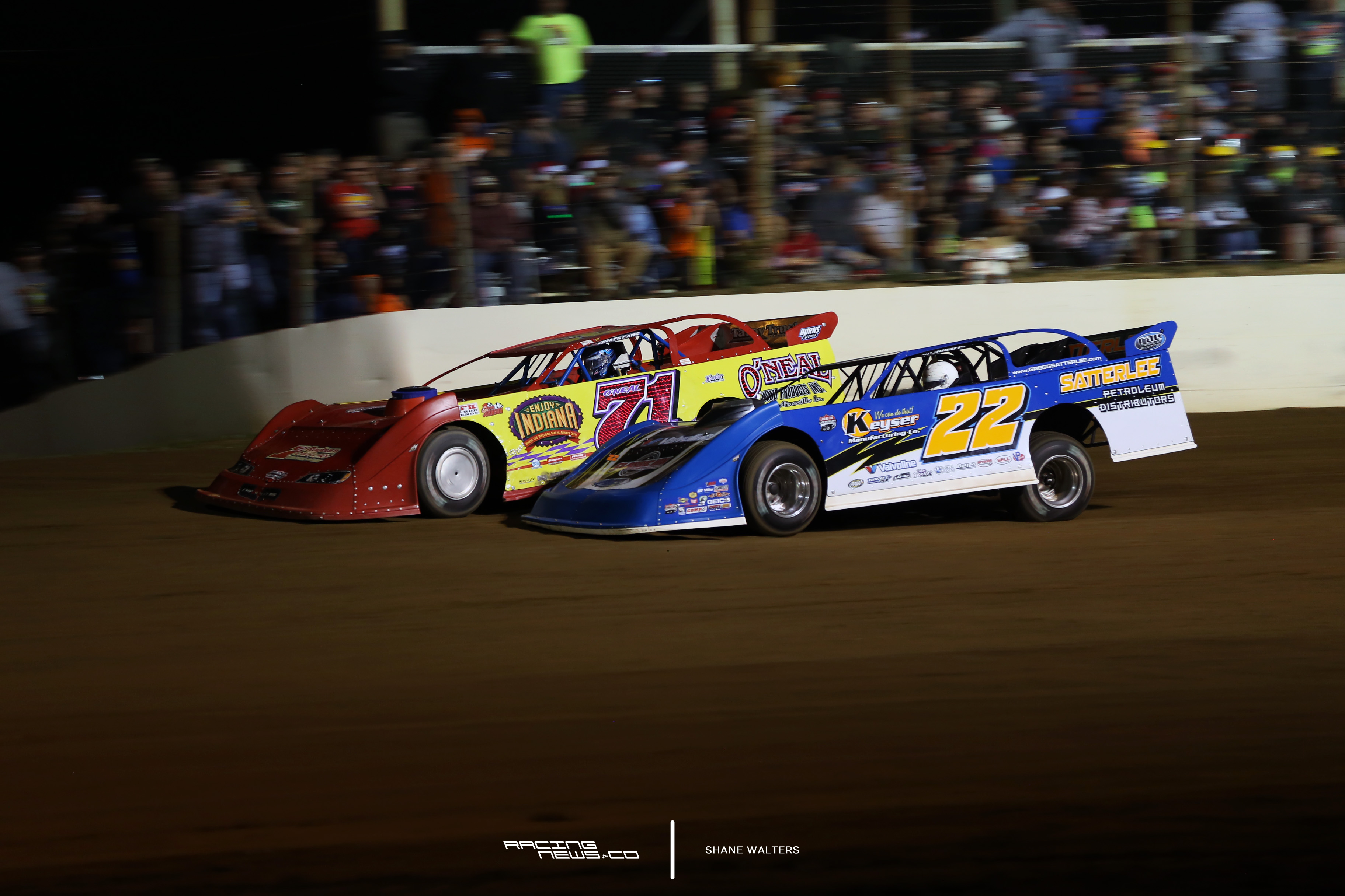 Gregg Satterlee and Hudson O'Neal at Portsmouth Raceway Park 1536