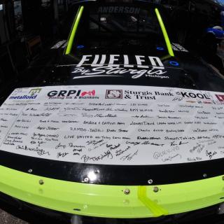 Jordan Anderson - NASCAR Fan Sponsorship