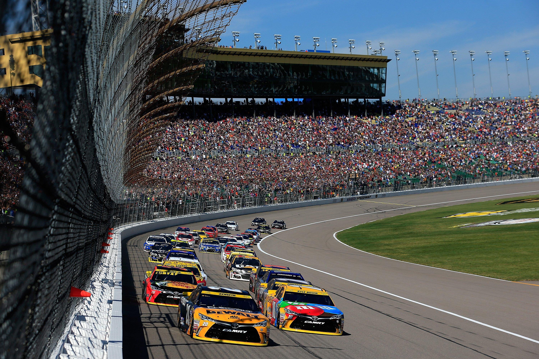 Kansas Speedway NASCAR TV Schedule - October 2017