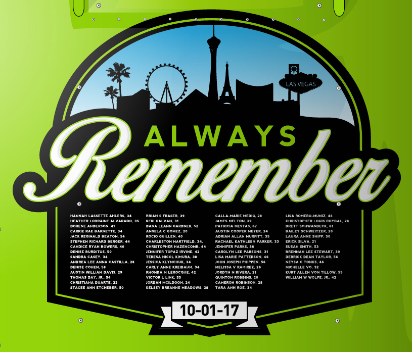 Las Vegas tribute NASCAR truck - Faith Motorsports