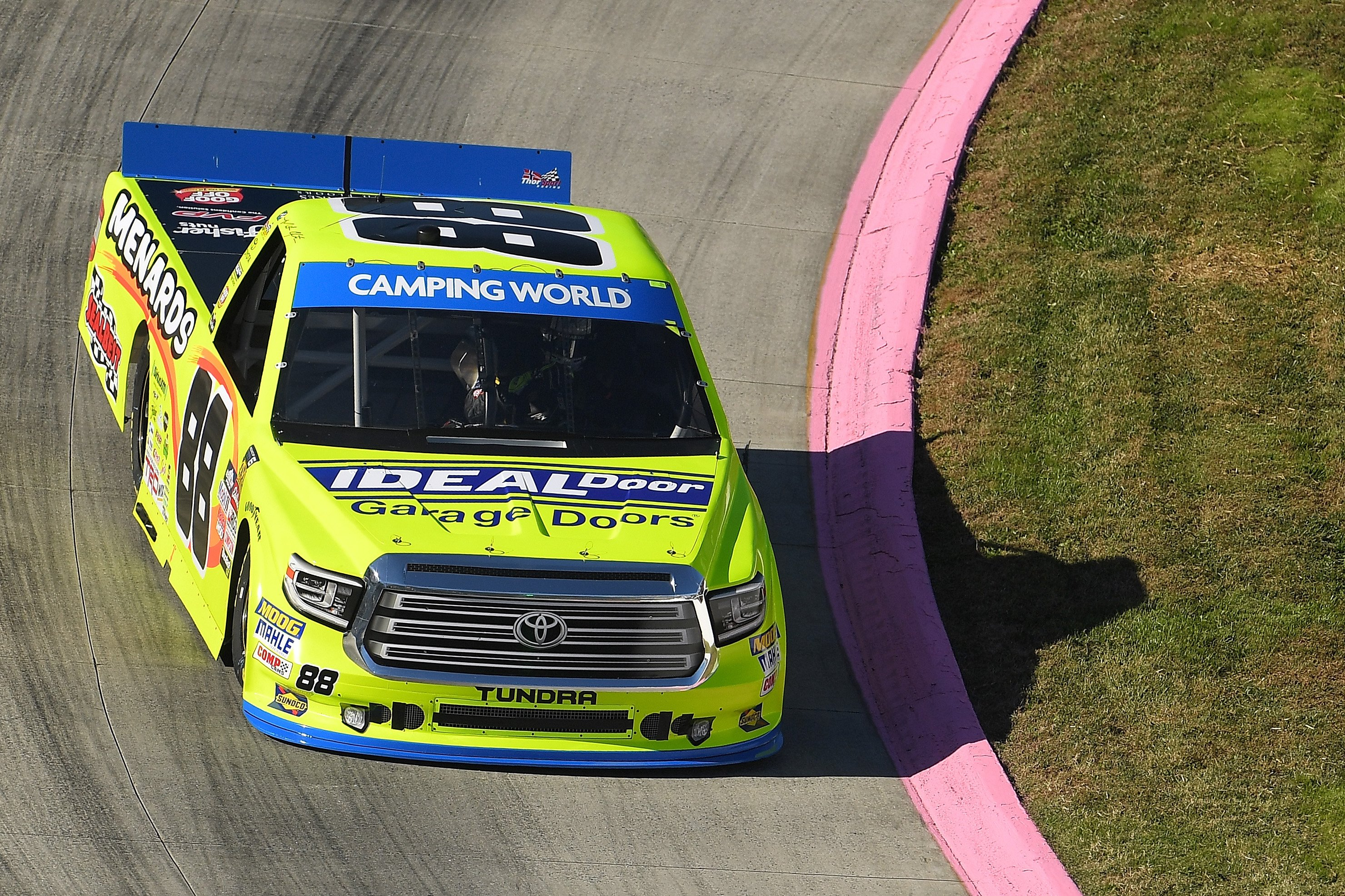 Matt Crafton at Martinsville Speedway