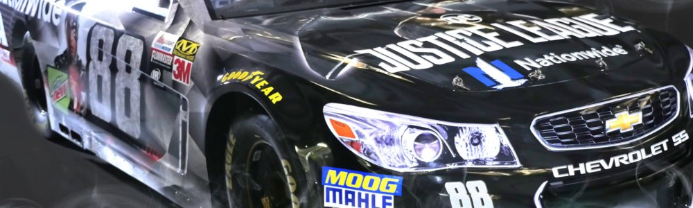 Justice League NASCAR paint scheme: not allowed