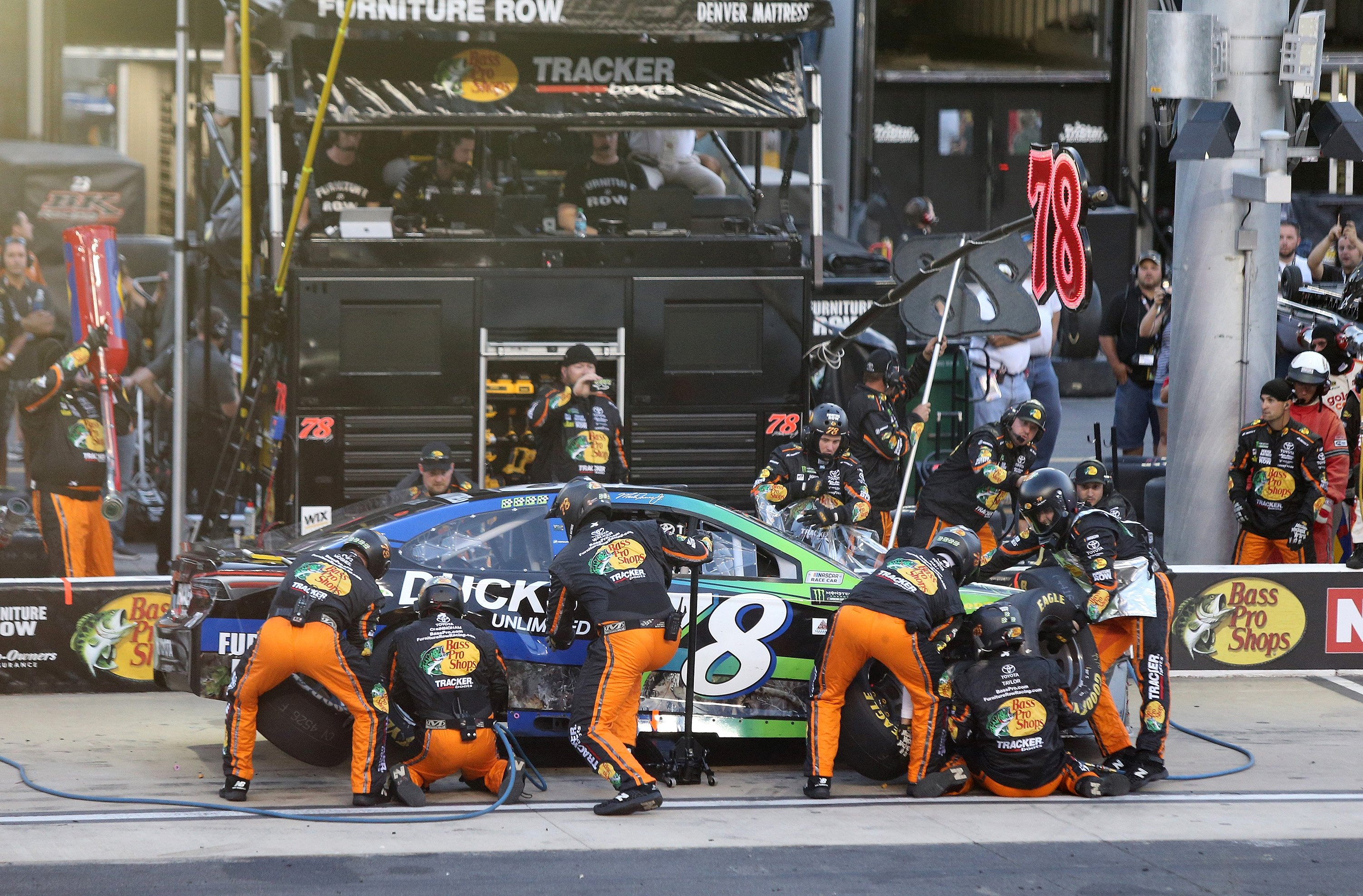 NASCAR pit stop rule changes