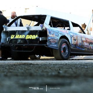 Street Stock Wagon - Rustic Car Graphics 2414