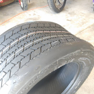 Unmarked dirt modified tire