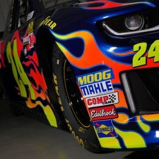 William Byron 2018 NASCAR Racecar