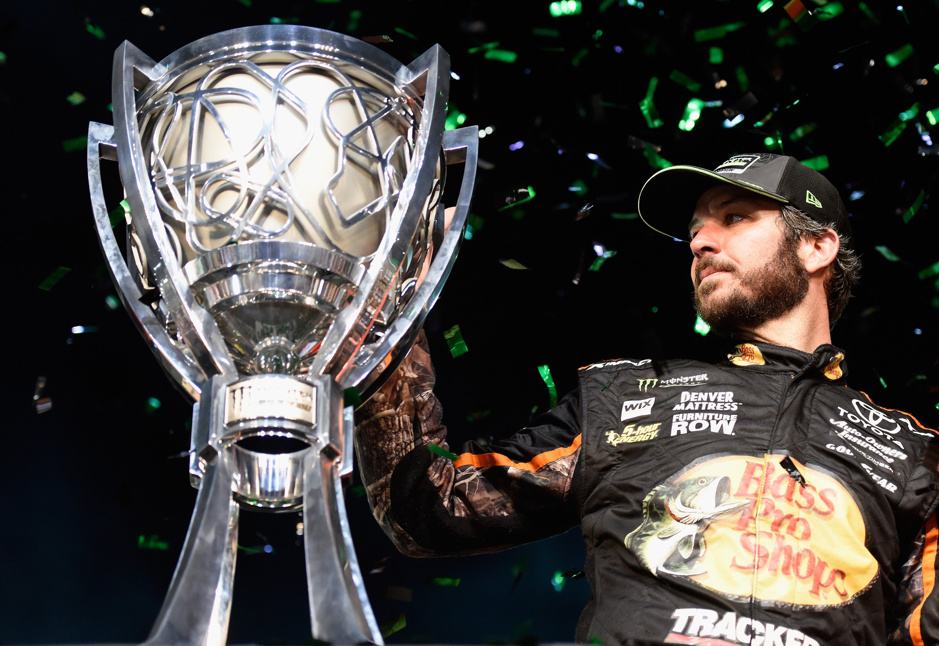 2017 Monster Energy NASCAR Cup Series Champion Martin Truex Jr