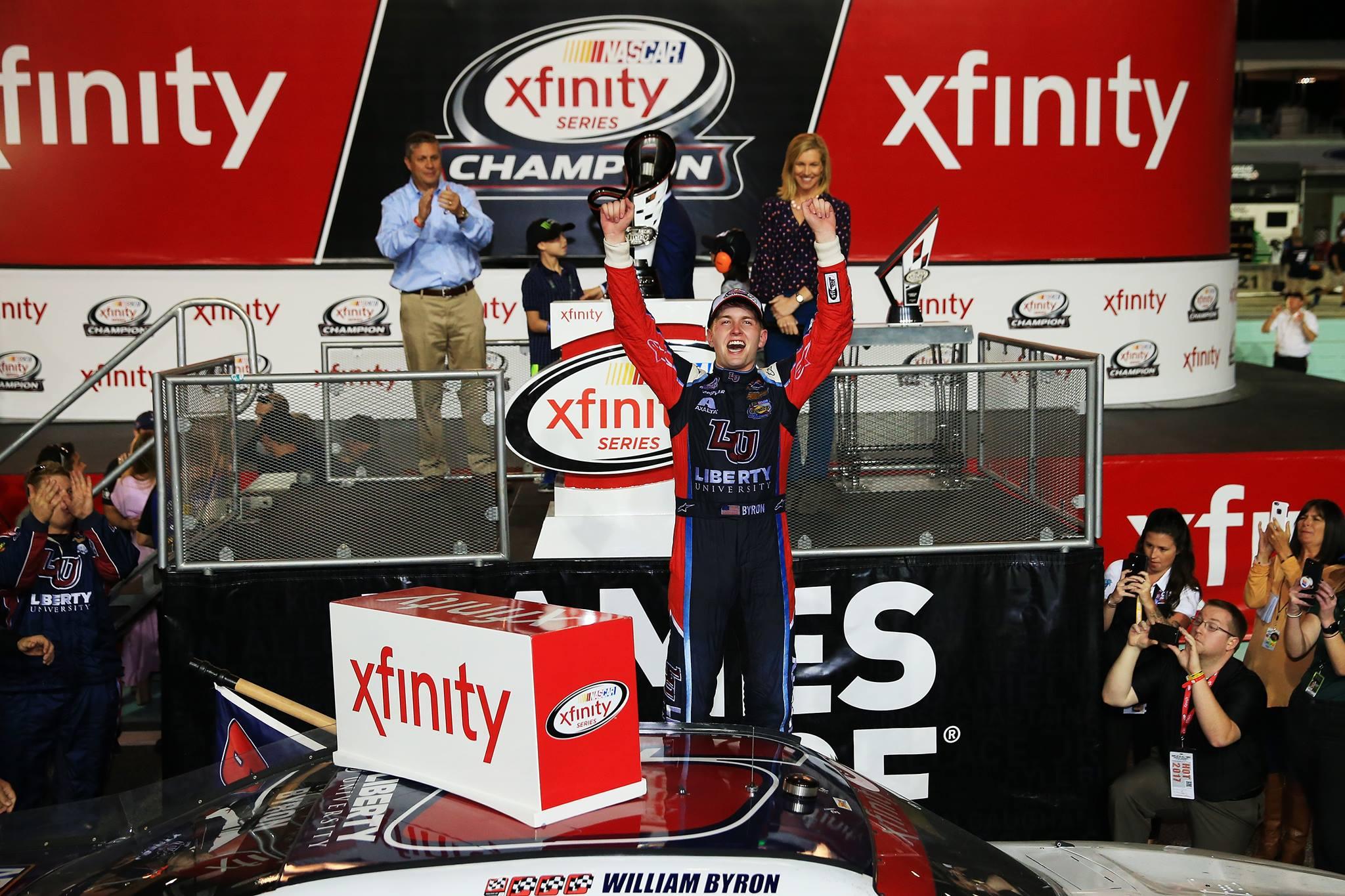 2017 NASCAR Xfinity Series Champion William Byron