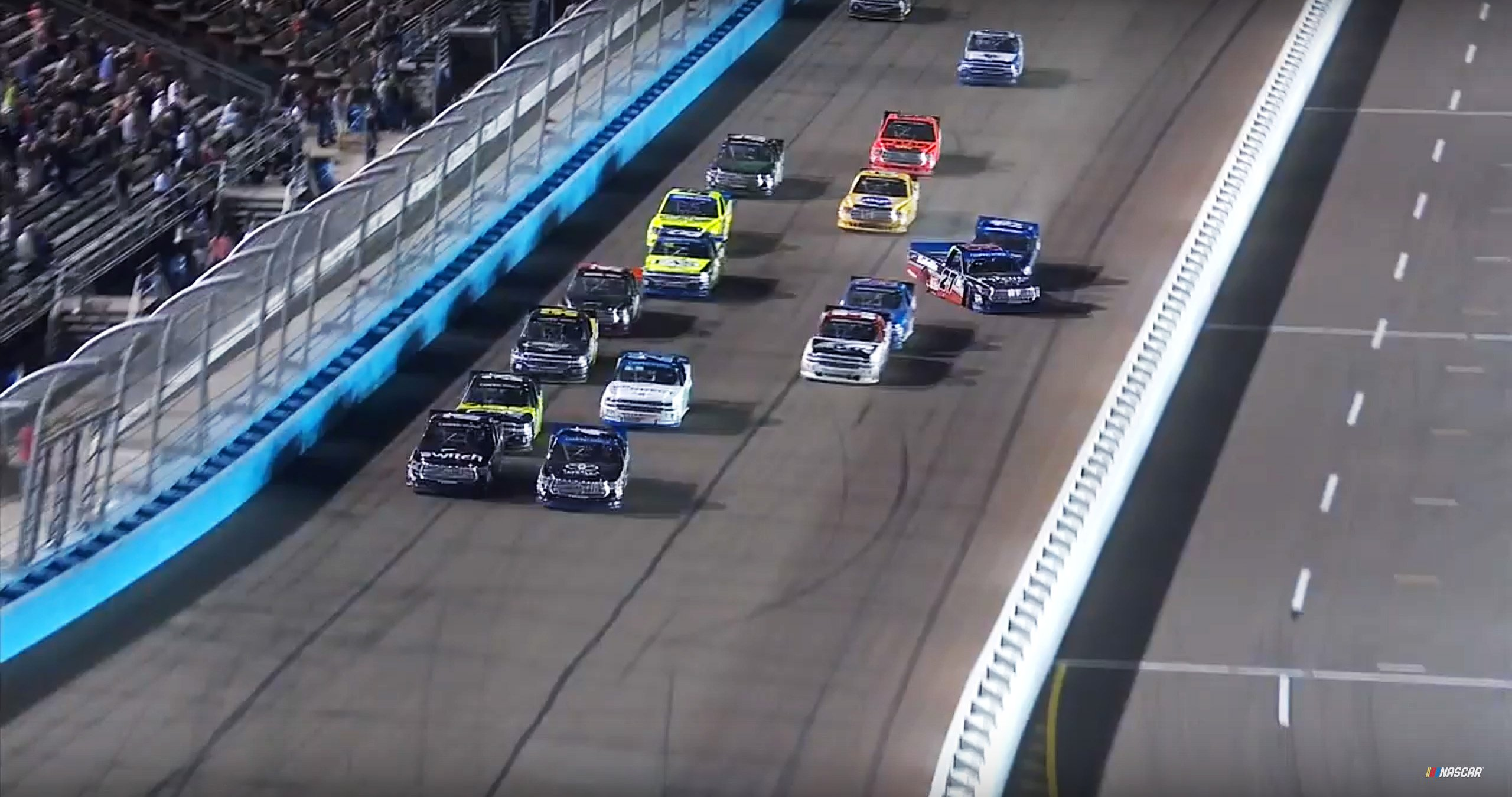 Ben Rhodes and Austin Cindric crash at Phoenix International Raceway