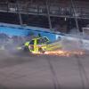 Ben Rhodes and Matt Crafton - Phoenix Raceway crash
