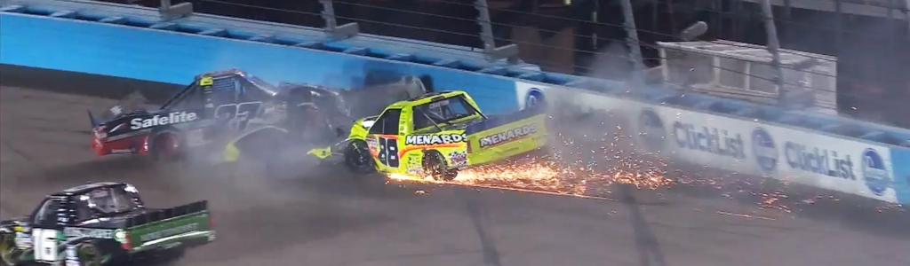 NASCAR community comments on Cindric / Rhodes crash