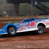 Brandon Sheppard pilots the Rocket Chassis house car at Sharon Speedway