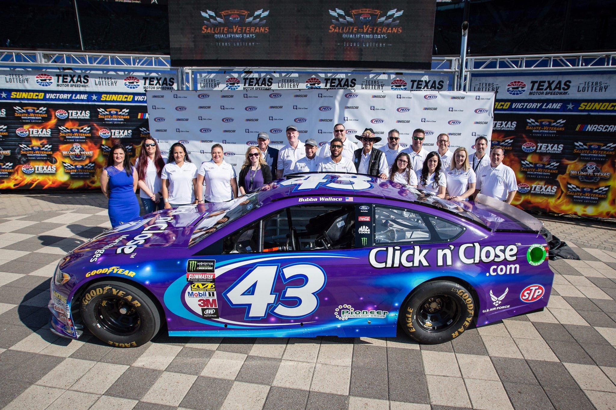 Bubba Wallace 2018 Car Click N Close Racing News