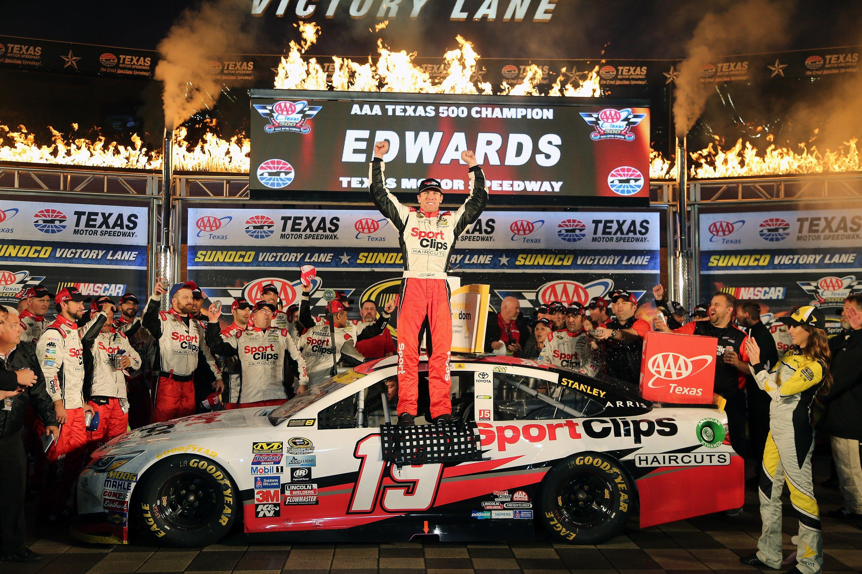 Carl Edwards last win - NASCAR - Texas Motor Speedway