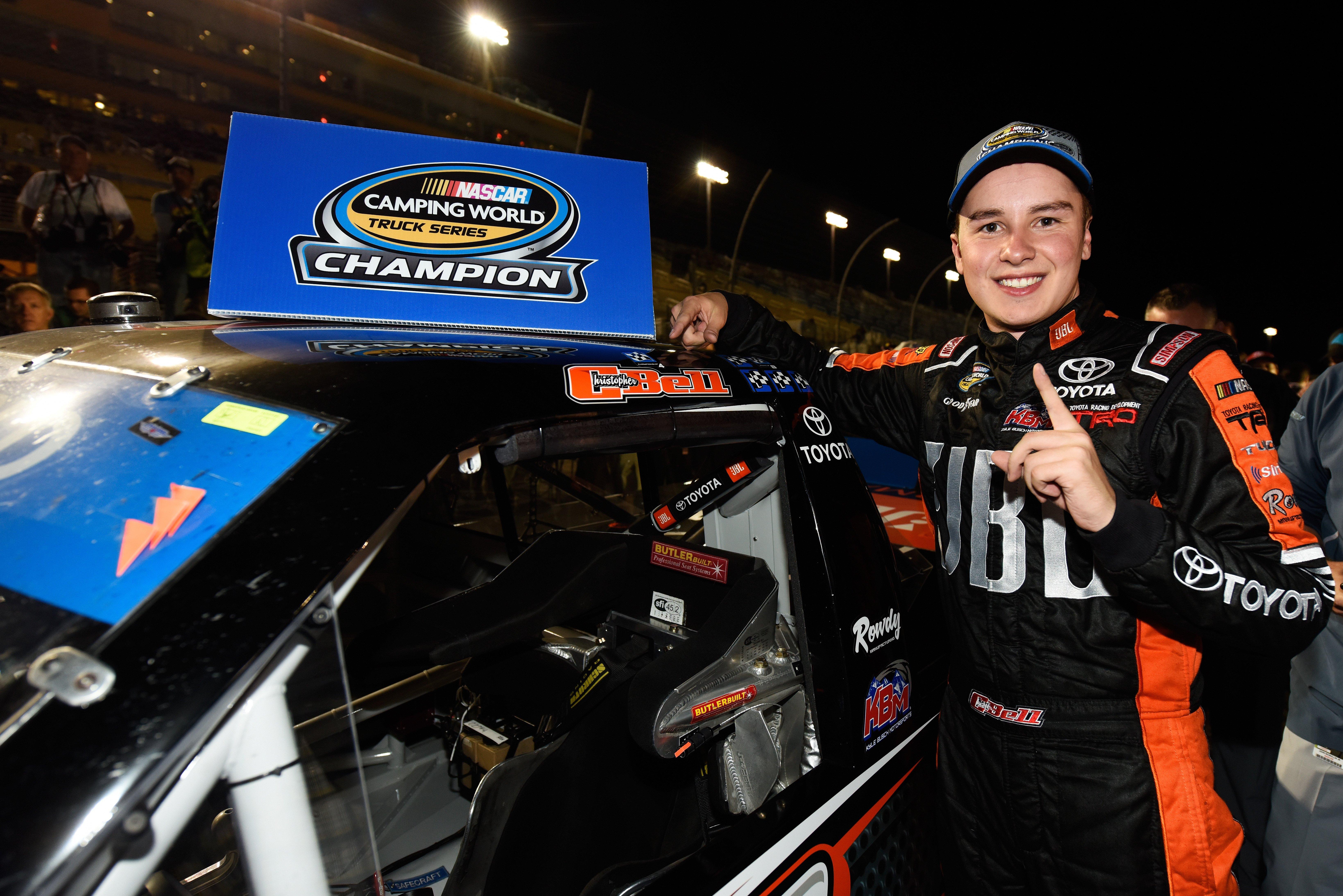 Christopher Bell - 2017 NASCAR Truck Champion
