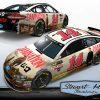 Clint Bowyer Damnation NASCAR race car