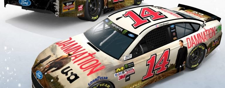 Damnation NASCAR race car – Clint Bowyer