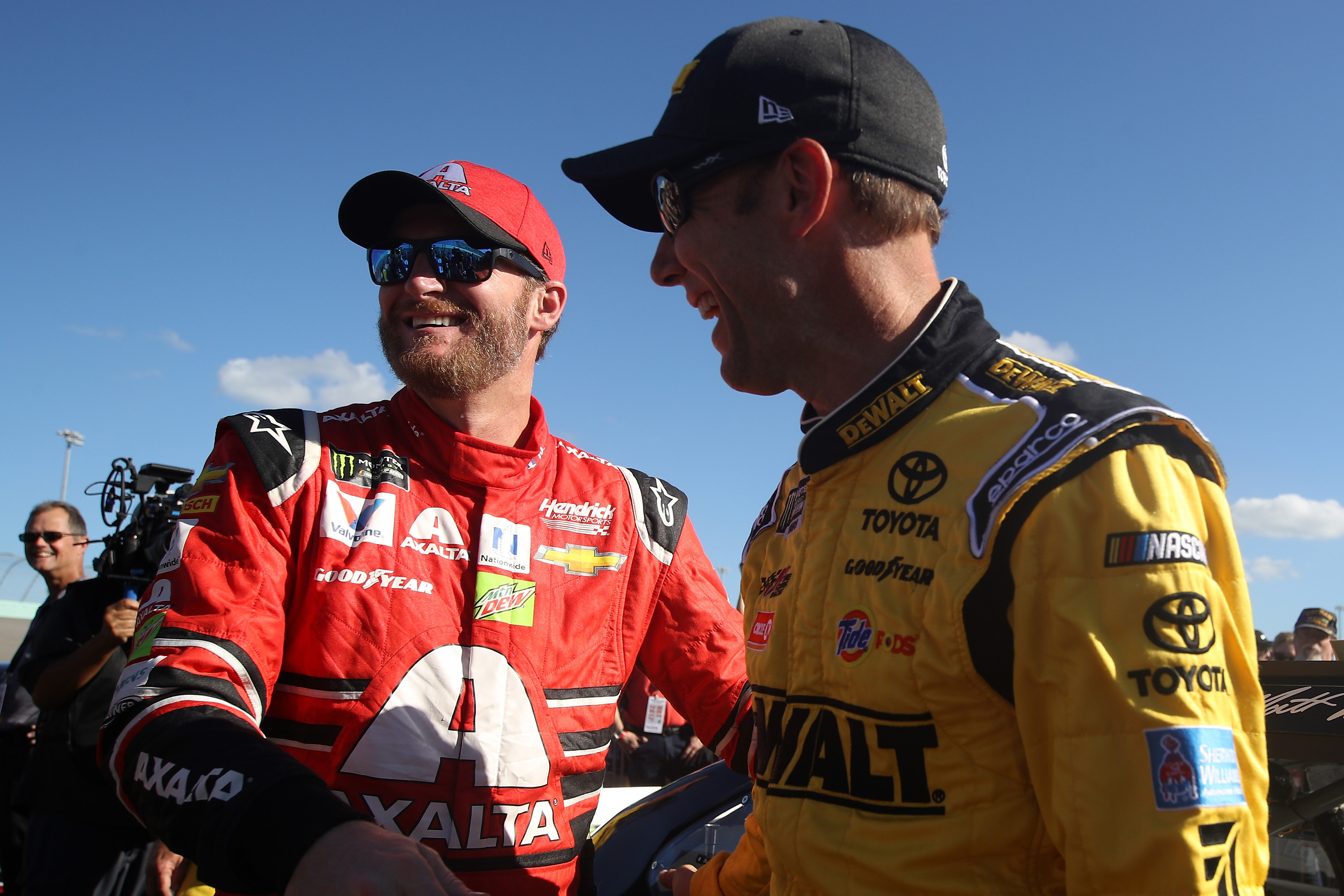 Dale Earnhardt Jr and Matt Kenseth