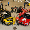 Dale Earnhardt Jr and Matt Kenseth - last race - Hoemstead-Miami Speedway