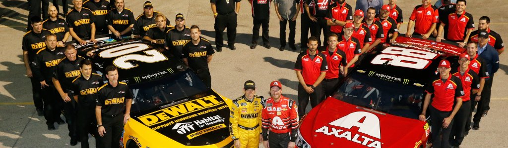 Matt Kenseth: Fatherhood tips for Dale Earnhardt Jr