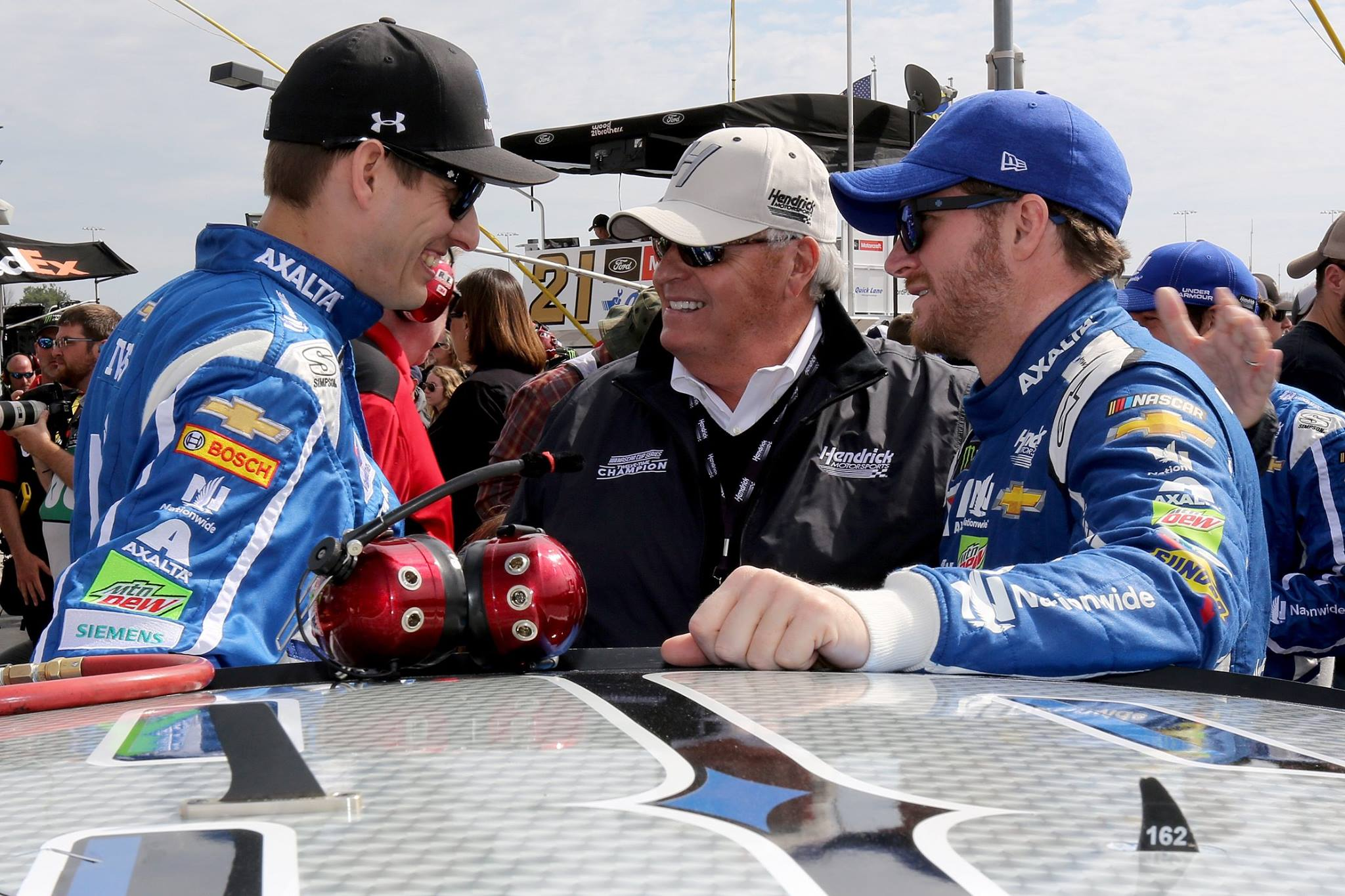 Dale Earnhardt Jr and Rick Hendrick