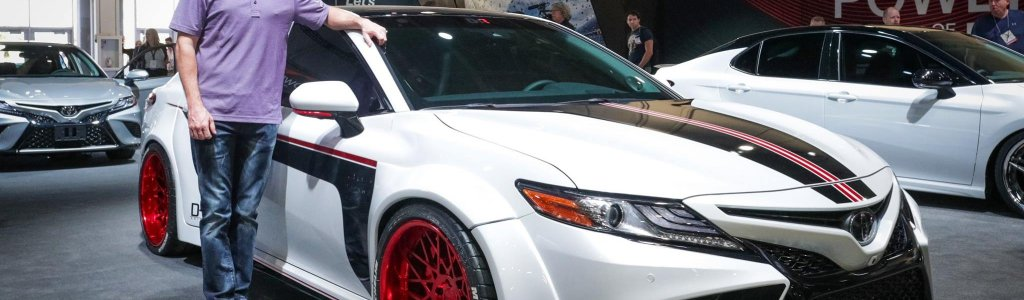 Customized Toyota Camry: Personal cars of NASCAR