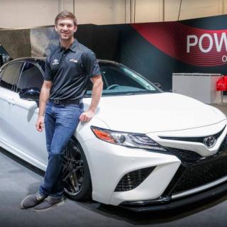 Daniel Suárez - Toyota Camry Custom