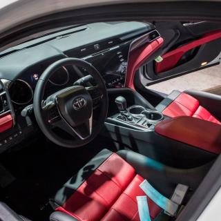 Denny Hamlin customized Toyota Camry