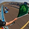 Green flag at Phoenix Raceway