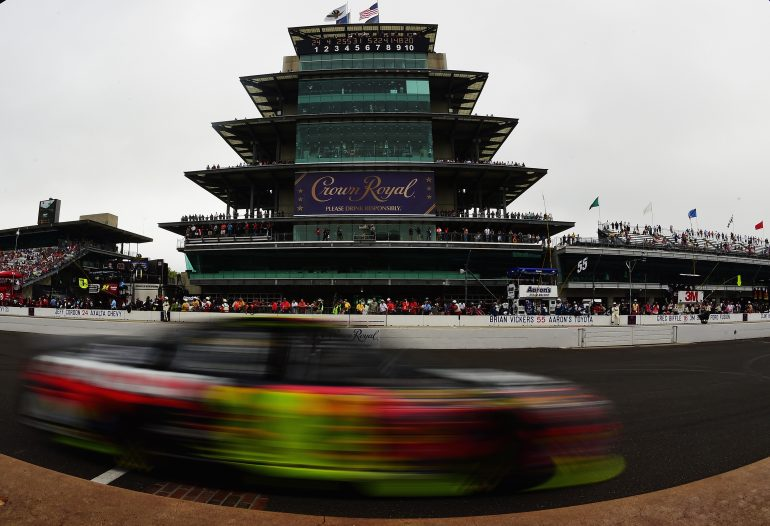 Jeff Gordon at Indianapolis Motor Speedway