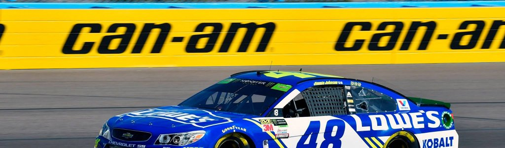 Jimmie Johnson out at Phoenix