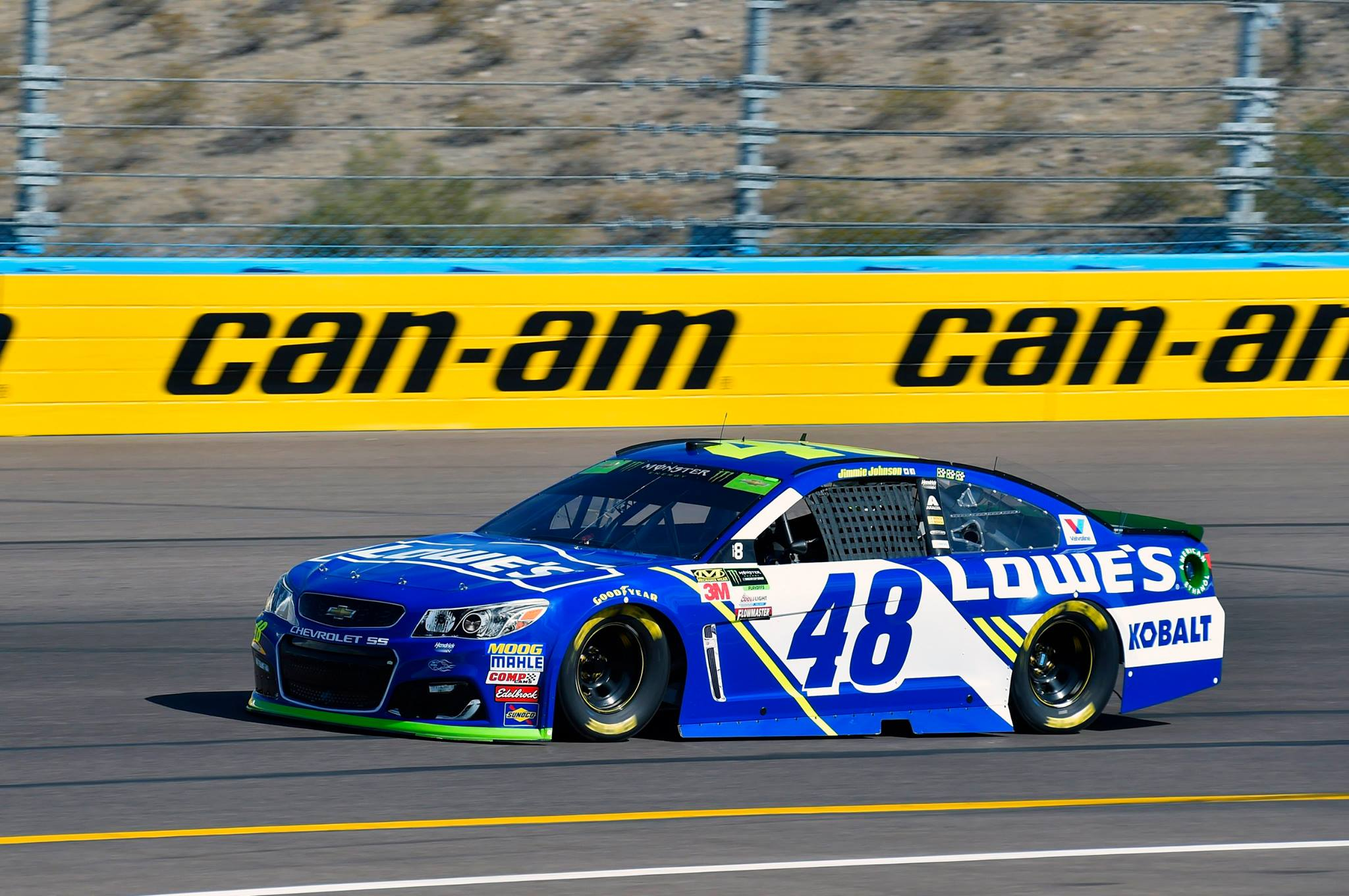 Jimmie Johnson at Phoenix Raceway