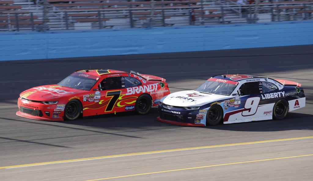 Justin Allgaier - Phoenix Raceway