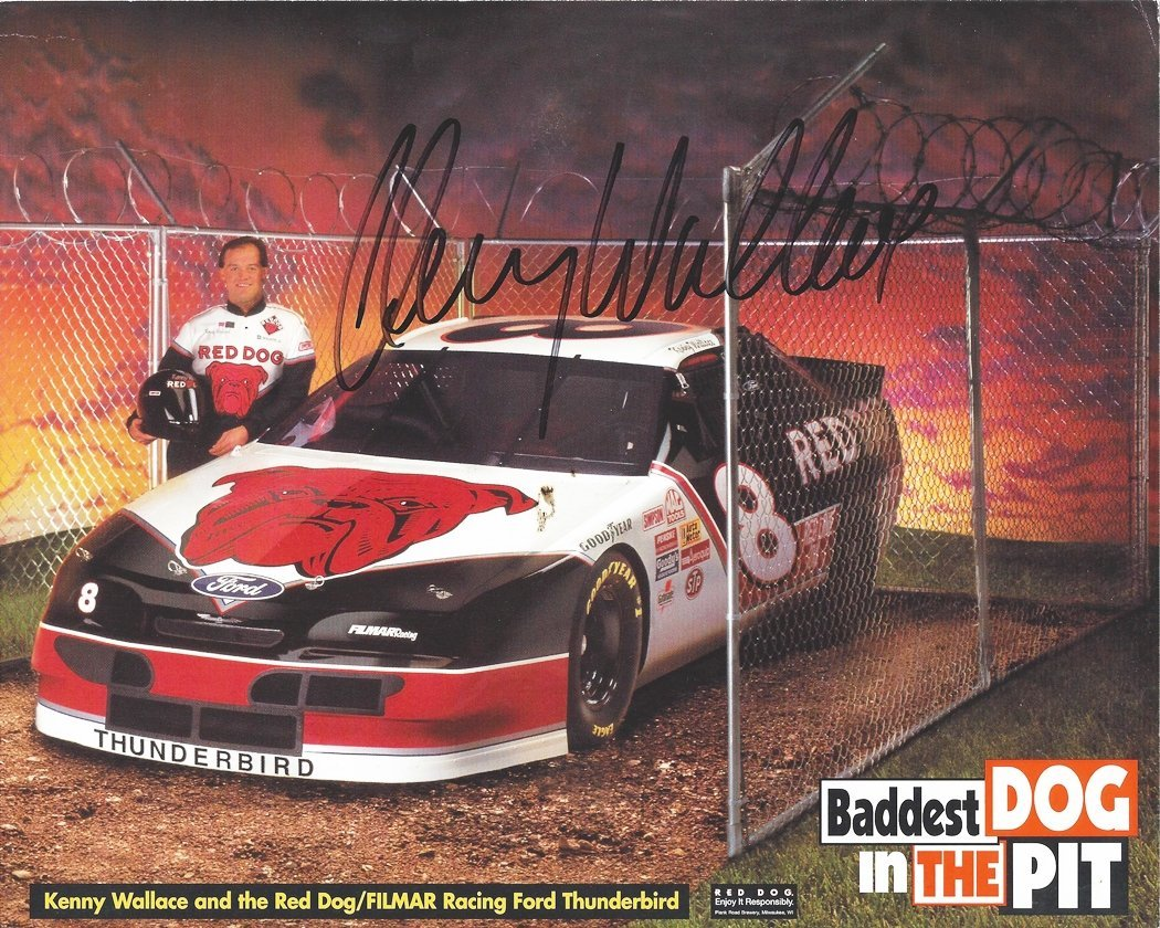 Kenny Wallace - Red Dog Racing - Baddest Dog in the Park