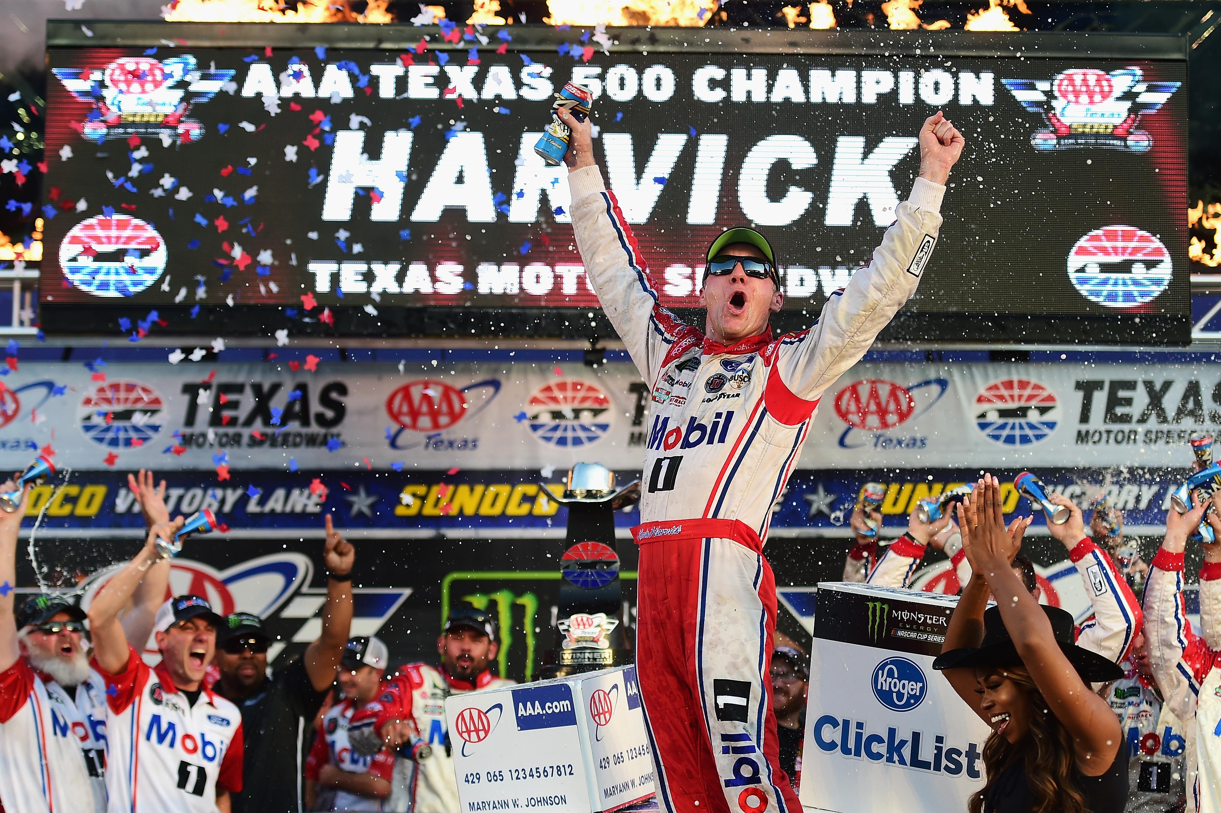 Kevin Harvick wins