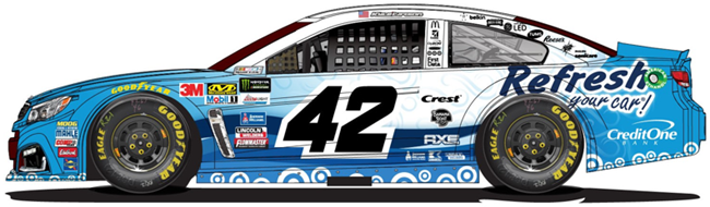 Kyle Larson - Refresh Your Car! Paint Scheme