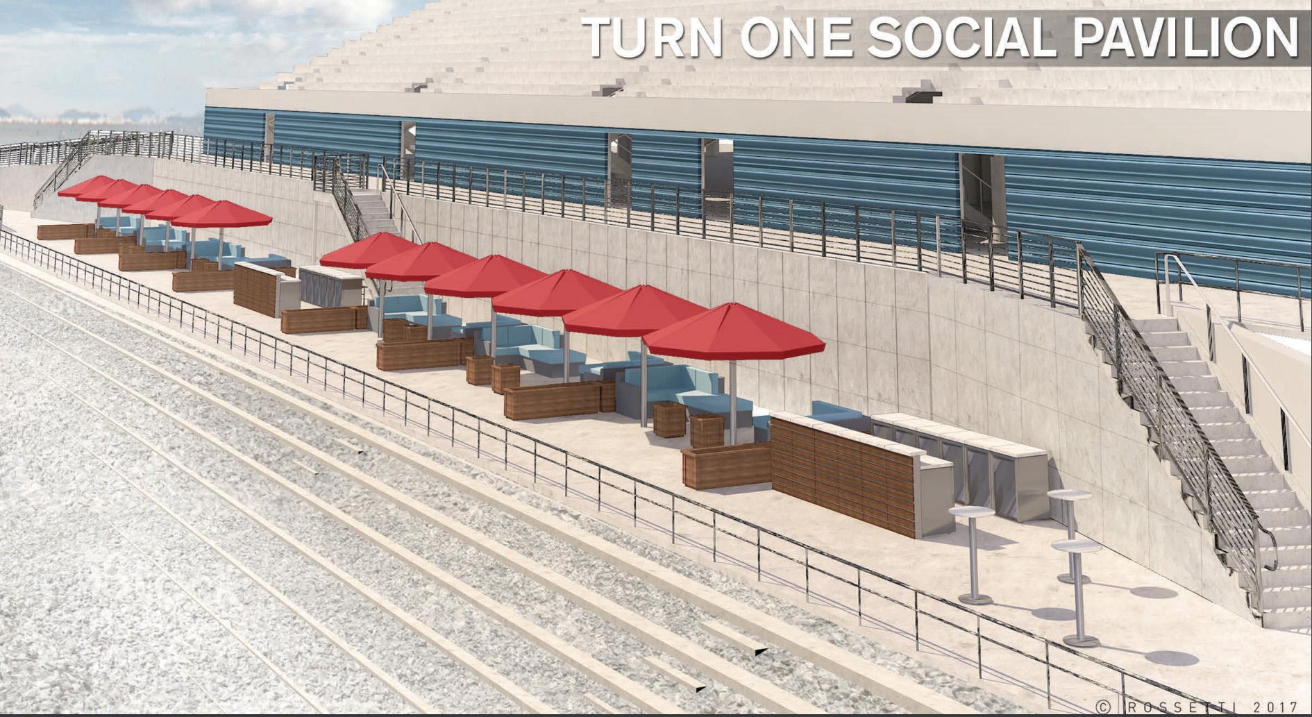 LVMS Turn 1 Social Pavilion
