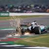 Lewis Hamilton sparks - Mercedes AMG Petronas F1 Team